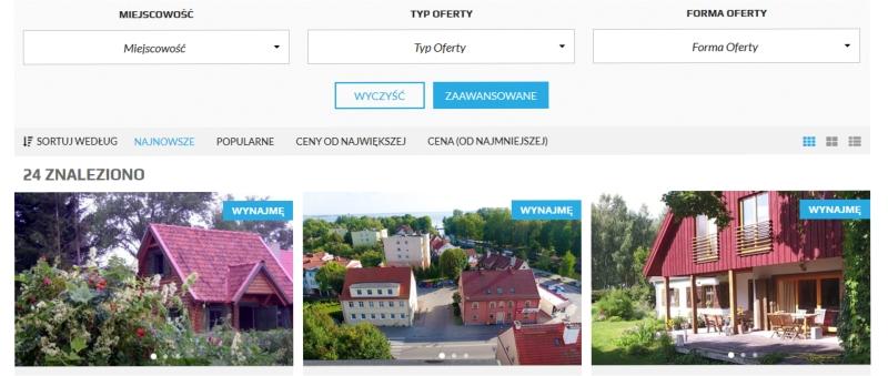 Mazury Online, wyłącznie zweryfikowane obiekty noclegowe na Mazurach